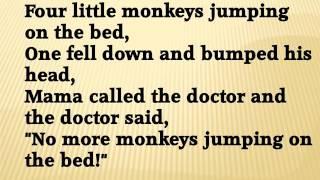 five little monkeys ducks