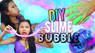 DIY Slime Bubbles | Reusable Bubbles