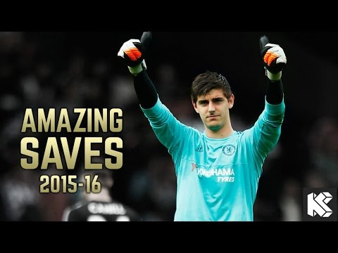 Thibaut Courtois ● Best Saves, Skills - 2015/2016 (CHELSEA F.C)