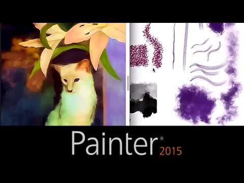 Traditional Sketching with Painter 2015 Particles featuring Cher Pendarvis