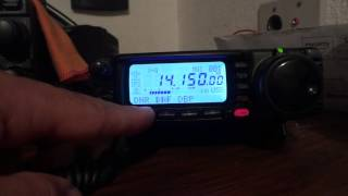 YAESU FT-100D DNR DNF IFS DSP ON 20 METERS  BY  PY1RY