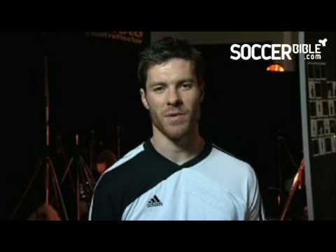 Xabi Alonso on Liverpool teammates - adidas adiPure II football boots