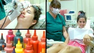 Getting Permanent Makeup: Before & After!