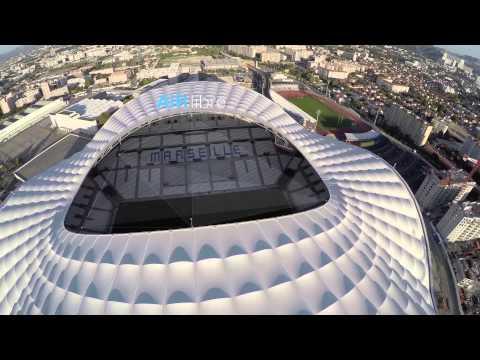 Stade vélodrome Marseille par AirLibre & Jimmy Pichard