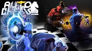 DOTA 2 Auto Chess: Carry Me Lunaaaa!!