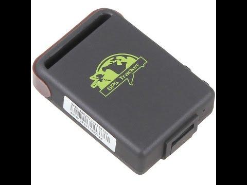 Распаковка TK102 Mini GPS/GSM/GPRS Tracker