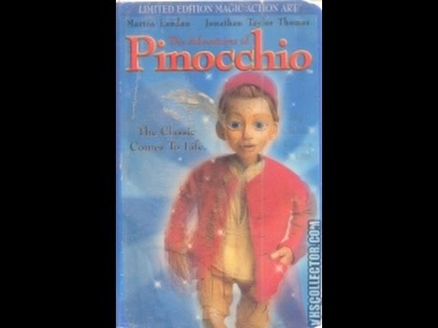 Opening To The Adventures Of Pinocchio 1996 VHS