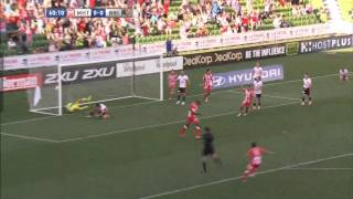 Melbourne Heart vs Brisbane Roar, Hyundai A League 2014 (Round 20)