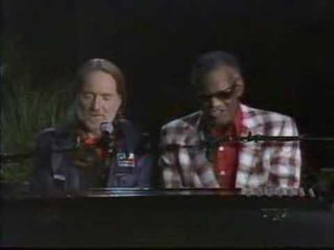 Willie Nelson - Ray Charles - Georgia on my mind Music Videos