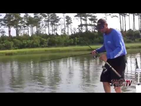 Carolina Fishing TV - Season 3/9 - Topwater Redfish