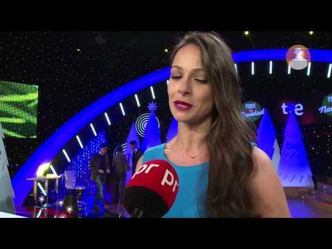 Eva González presenta su Navidad en TVE para prnoticias