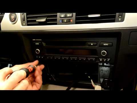 BMW E90 3 series radio professional replacement