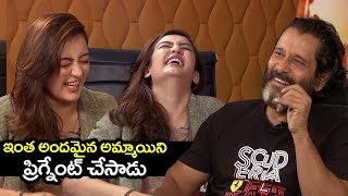 Vikram Making Fun of Akshara Haasan Pregnancy in Mr KK Movie | mr kk movie release date | Filmylooks