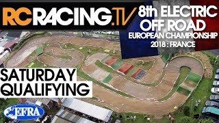 EFRA 1/8th Electric Buggy Euros - Saturday Qualifying Live!!