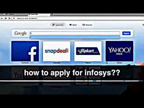 How to Apply Jobs in Infosys?