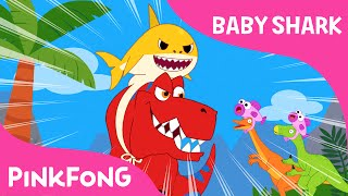 Baby Shark-Rex | Animal Songs | Dinosaur Songs | PINKFONG Songs for Children