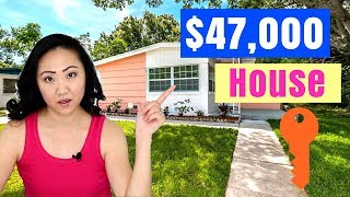 We Bought + LIVED in a $47,000 House | Before + After Renovation Pics | JEN TALKS FOREVER