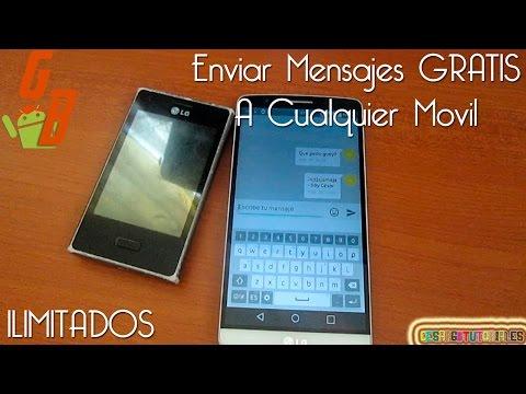 Enviar Mensajes GRATIS A Cualquier Teléfono (Mensajes ilimitados) - CesarGBTutoriales