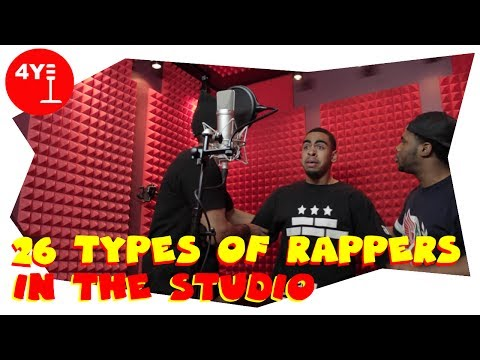 Truth: 26 Types Of Rappers In The Studio (4YallEntertainment Comedy Skit)