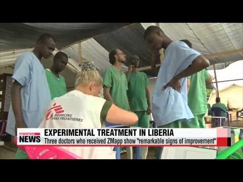 Liberian president declares Ebola curfew   라이베리아 야간 통금 및 밤 구역봉쇄+아프리카 첫 지맵 투여 의사,