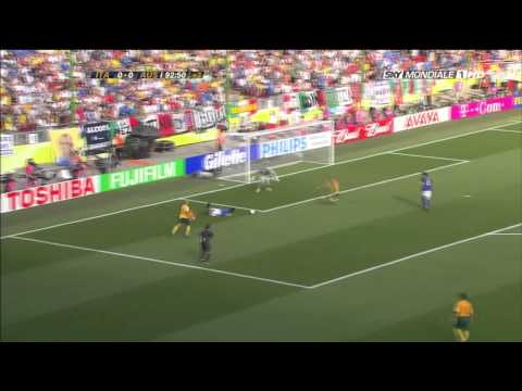 Francesco Totti vs Australia ( World Cup 2006 )