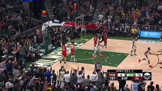 1st Quarter, One Box Video: Milwaukee Bucks vs. Toronto Raptors