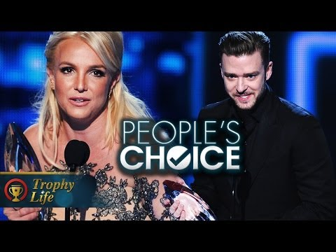Britney Spears & Justin Timberlake Win Big 2014 People's Choice Awards Winners