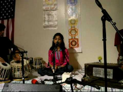 Neha Singing Raag Bilaawal Lakshan Geet Part 1