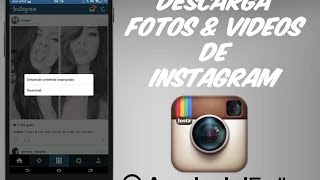 [Modulo]Descarga Fotos & Videos De Instagram || * Root * || Android Full ||
