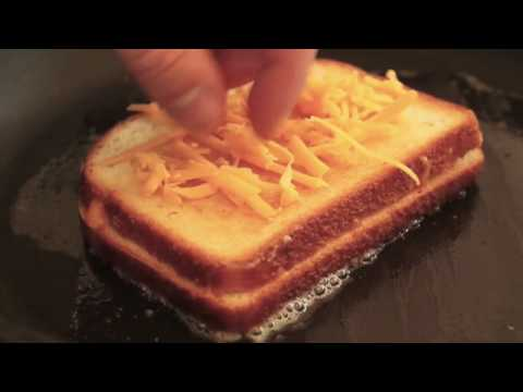 Food Wishes Recipes - Inside-Out Grilled Cheese Sandwich - Ultimate Ch...
