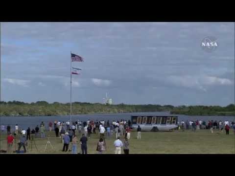 Despegue deTransbordador Espacial (camaras  en tierra y nave espacial)