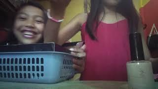 3 Colors of nail polish challenge/Ashley Lopez and Maria Clara Magtibay