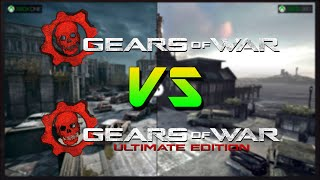 GEARS OF WAR VS GEARS OF WAR ULTIMATE EDITION COMPARATIVA DE GRÁFICOS EN ESPAÑOL