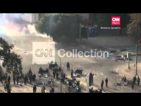 VENEZUELA:VALENCIA PROTEST CLASHES WEDNESDAY