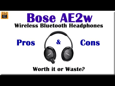 Bose AE2w Wireless Headphones  - Pros & Cons (Worth it or Waste?)​​​ | H2TechVideos​​​