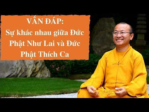 Vấn đáp: Sự khác nhau giữa Đức Phật Như Lai và Đức Phật Thích Ca
