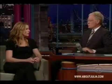 Julia Roberts David Letterman Summer 2009