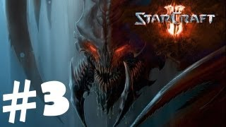 StarCraft 2 Heart of the Swarm Campaign Walkthrough Part 3 [1080p HD] Gameplay Review Lets Play Hard