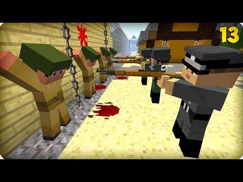 Вторая Мировая Война [ЧАСТЬ 13] Call of duty в Майнкрафт! - (Minecraft - Сериал)
