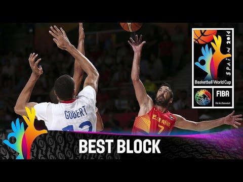 France v Spain - Best Block - 2014 FIBA Basketball World Cup