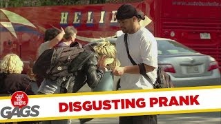 Most Disgusting Puke in the Bucket Prank