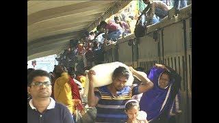 স্বজনদের ছেড়ে যানজটের শহরে ফিরছে কর্মব্যস্ত মানুষ | Somoy TV News
