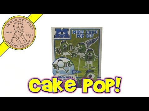 Monsters University Mike Wazowski Cake Pop Kit. 2013 Disney-Pixar