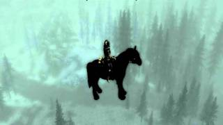 How to fly your horse in Skyrim (Dragon Cannon)