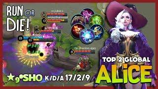 Rework Alice? Mid Lane Mode Assassins? ★₉•sʜᴏ Top 2 Global Alice ~ Mobile Legends