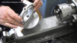 Machining a Casting, Mill and Lathe. Essex Turntable