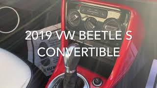 2019 VW Beetle Convertible for Jill from Mike
