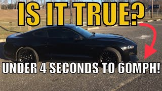 Here's How Fast a 2018 Mustang GT is (0-60mph!)