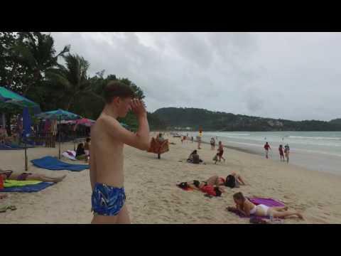 4K DJI Ozmo  of 2016 Patong Beach Phuket Thailand part 01