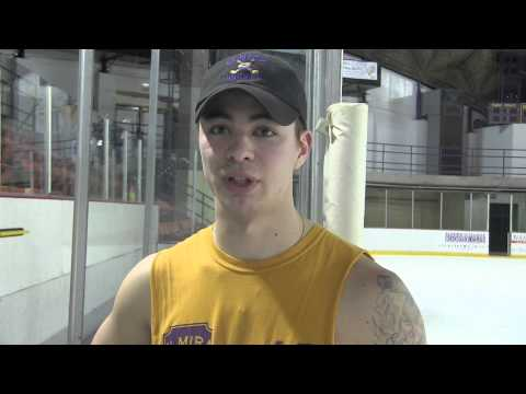 Elmira College Men's Ice Hockey Post Game Interview with Tommy Sumi '16